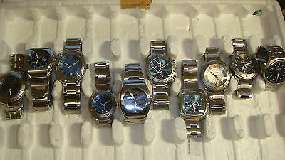 Trade Only Job Lot Of 10 X  Mixed Head Watches 100% Gen Beat This ??