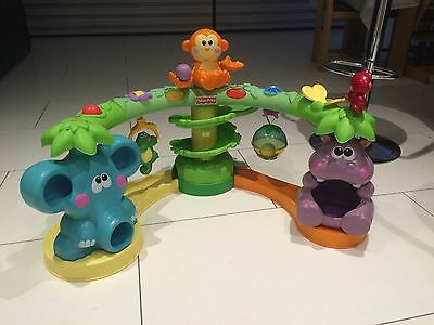 Fisher Price Cruise And Crawl Musical Jungle Toy
