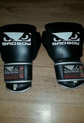 bad boy 16oz pro series mma sparring boxing gloves