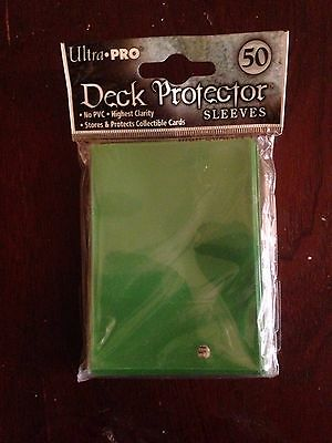 Ultra Pro Deck Protector (50 Sleeves) Green