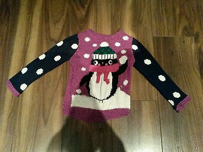 Girls Christmas Jumper age 2-3 Years.
