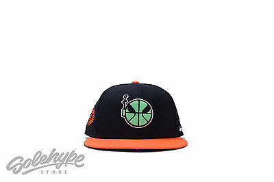 e2d6dd25 Nike Undefeated Area 72 Ray Gun Snap Back Sz Os Black Orange Hat 599210 010