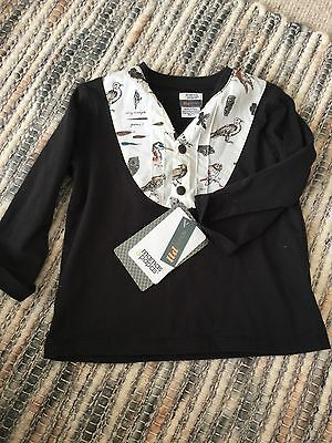 Limited Edition Mamas And Papas Birdie Top Size 18M- 2Yrs