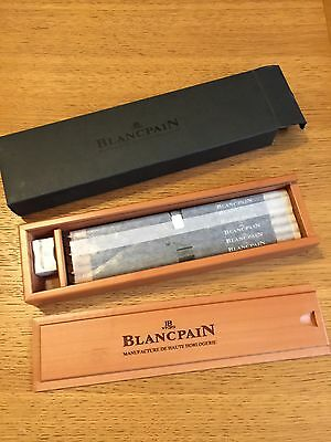 Blancpain Watches Collectors Pencils, Pencil Box And Sharpener - Swiss Made