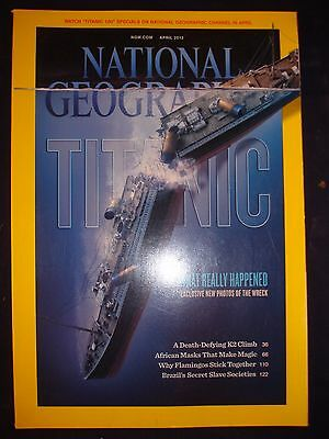 National Geographic - April 2012 - The Titanic, what really happened?