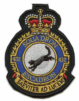 Royal Canadian Air Force 432 Squadron  Badge patch