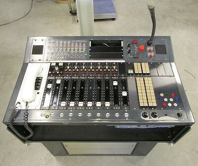 Siemens Vintage Stereo Mixer w/ Eckmiller, Neumann and many other modules