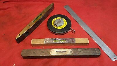 vintage collection of measuring devices