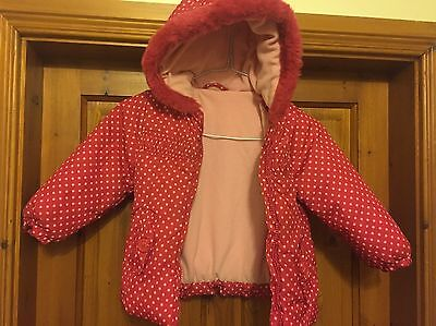 Little Girls Pink Coat 24-36 Months