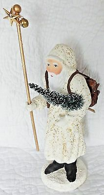Old fashioned style SANTA CLAUS St. Nicholas Christmas old World 7in. figure