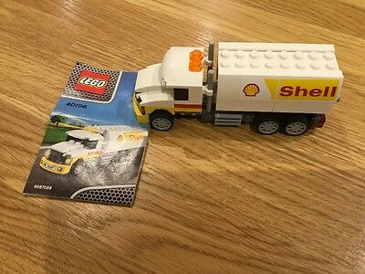 Lego  Shell Tanker Truck.(40196) Limited Edition