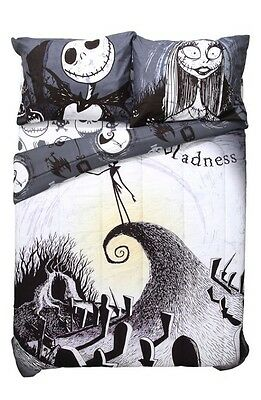Disney Nightmare Before Christmas Moonlight Microfiber Full/Queen Comforter NIP!