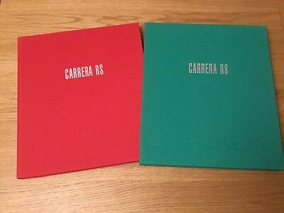 1st Edition Carrera RS Bible By Gruber & Konradsheim