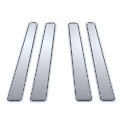 2010-2016 Toyota 4 Runner 4Pc Chrome Pillar Side Covers