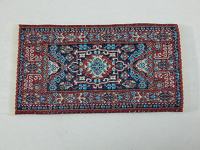 "2""x4"" #45KK Dollhouse Miniature 1:12 Scale Floor Carpet  Area Woven Rug"