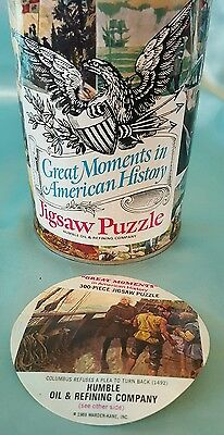 Humble Oil & Refining Co.  Jigsaw Puzzle  Great Moments In American History