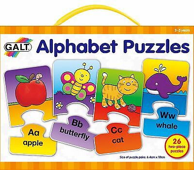 GALT Toy's New Play & Learn Alphabet Puzzles Game - FREE & FAST DELIVERY