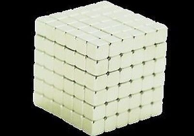 216x Néodyme Cube Aimant 3x3x3mm Magnets super-magiques mini-aimants forts