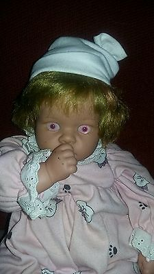 Haunted Lee Middleton Baby Doll Laura Very Active Pink Eyes