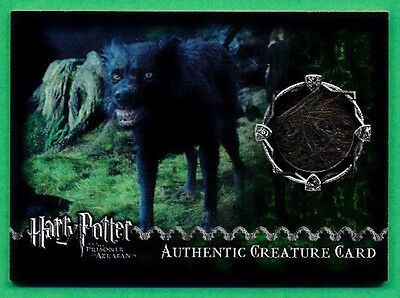 Harry Potter and the Prisoner of Azkaban CREATURE CARD COSTUME 51/880 *Surface