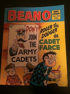 Beano Comic Library No 63 Roger The Dodger