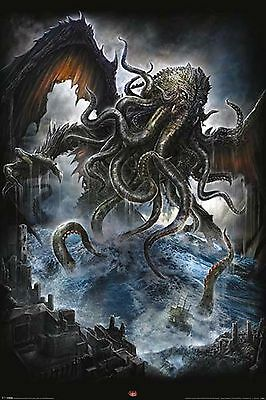 Spiral - Cthulhu  POSTER 61x91cm New Licensed Print FREE POST