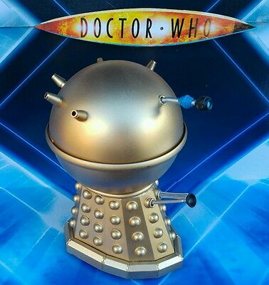 DOCTOR WHO  LARGE  Golden Emperor CUSTOM 8 INCH   last one