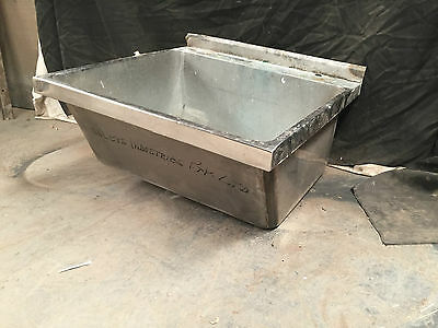 Stainless Steel Deep Kitchen Sink Commercial Deep Sink Basin Laundry Sink