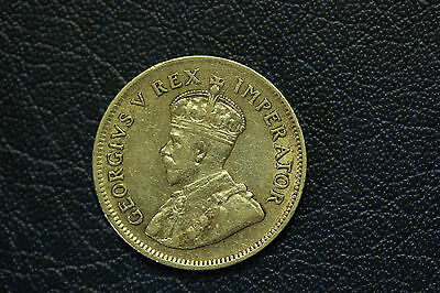 South Africa 1930 Silver Shilling.EF.