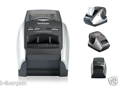 Brother Professional Thermal Label Printer QL-570 Incl. 2xDK Starter Label Rolls