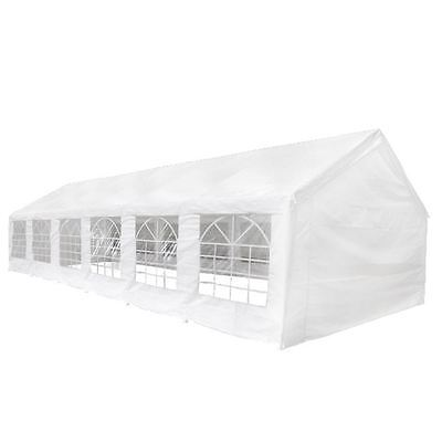 20' x 40' White Outdoor Gazebo Canopy Wedding Party Tent 14 Removable Walls