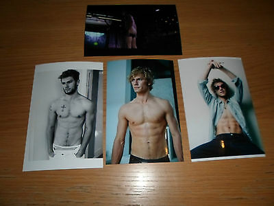 Alex Pettyfer 6x4 Photograph Set. Tv Actor Model Wild Child Film Magic Mike