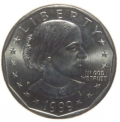 1999-P - Us Susan B. Anthony Dollar Proof Coin