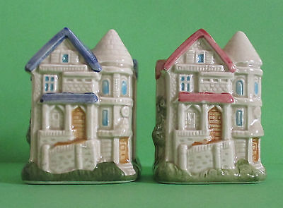 Houses Salt And Pepper Shakers