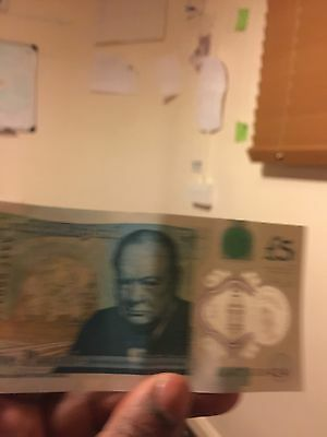 Rare £5 Note! AA47  5 Pound Note AA47