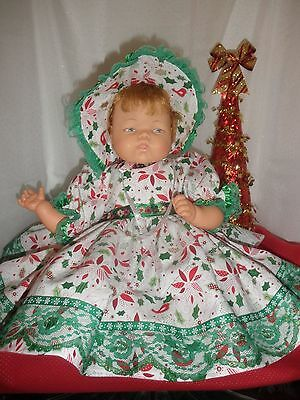 Christmas Outfit for 19-20 Inch Thumbelina Doll by Pam's Creations
