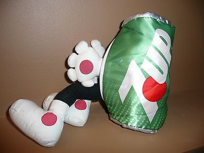 Vintage 1987 Plush Reversible Transforming 7up Can into Spot