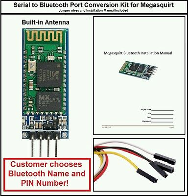 Megasquirt 2,3 onboard Bluetooth converter. Datalog & tune with your cellphone!