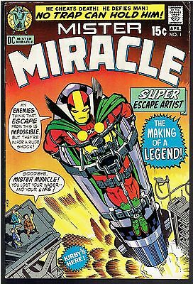 Old DC Comic Mister Miracle #1