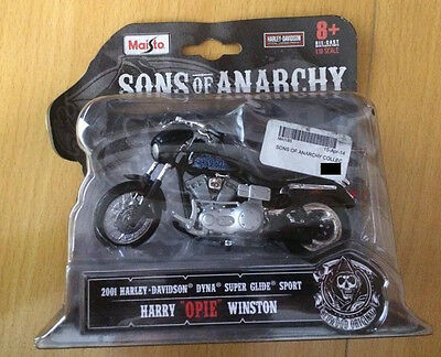 "Sons of anarchy Harry ""opie"" Winston Model bike"