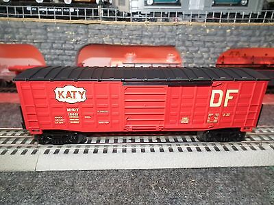 Lionel 6-15021 Katy Waffle Sided Boxcar Built 1-08