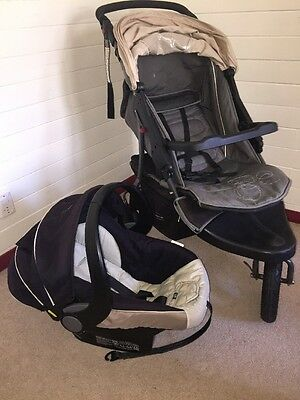 Steelcraft Travel System 3 Wheel Stroller And Infant Carrier/car Capsule