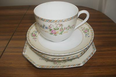 Noritake Cup Saucer & 2 different size plates (Trio Plus)