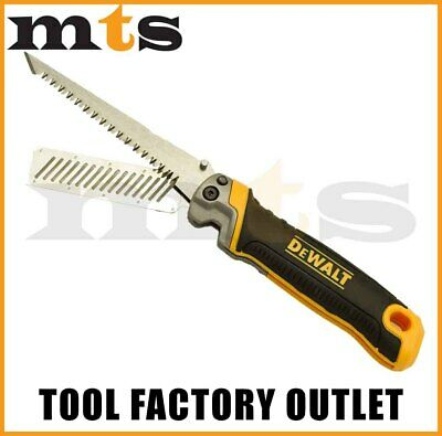 Dewalt Dwht20123 Folding Jab Saw With Rasp Ideal For Cutting Drywall