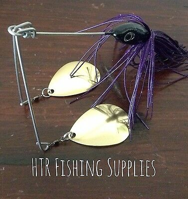1 1/2 Ounce Twin Arm Spinnerbait Fishing (trolling) Lure For Murray Cod