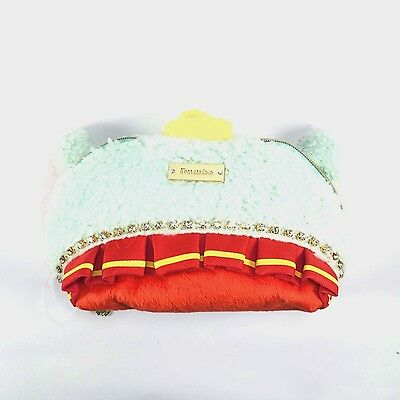 Tokyo Disney Dumbo Rhinestone Pouch Cosmetic Bag Pooh Chip Dale