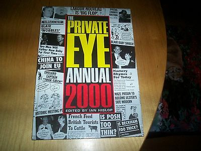 book the private eye annual 2000 signed by ian hislop & friends NEW