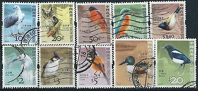 M058) Hong Kong. Used. 2006. Small Collection Birds.