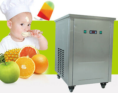 Stainless Steel Ice Lolly Machine,ice popsicle machine with one 40pcs/set mold