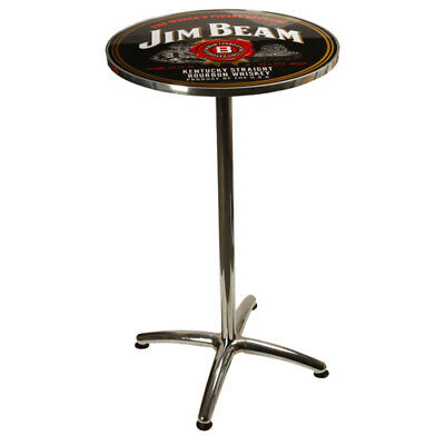 Jim Beam LICENSED BAR TABLE Matching Bar stools in Store Man Cave Christmas Gift
